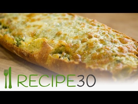 Italian cheesy garlic bread recipe