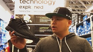 YEEZY 350 BOOST AT ADIDAS OUTLET!?