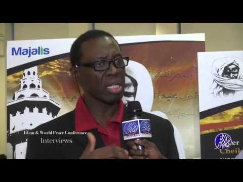 World Peace Conference in Columbia University: Interviews El Hadji Ndao &  Moussa DIENG Kala