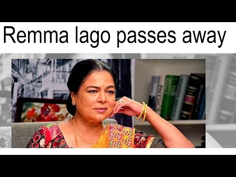 Reema Lagoo Is No More | A Tribute to Bollywood's Favorite Mom | unique ideas