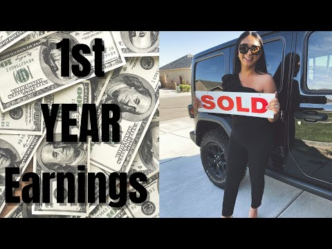 My First Year Earnings As A Real Estate Agent (ACTUAL NUMBERS)