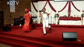 Charles  Wachira Leading Worship in America