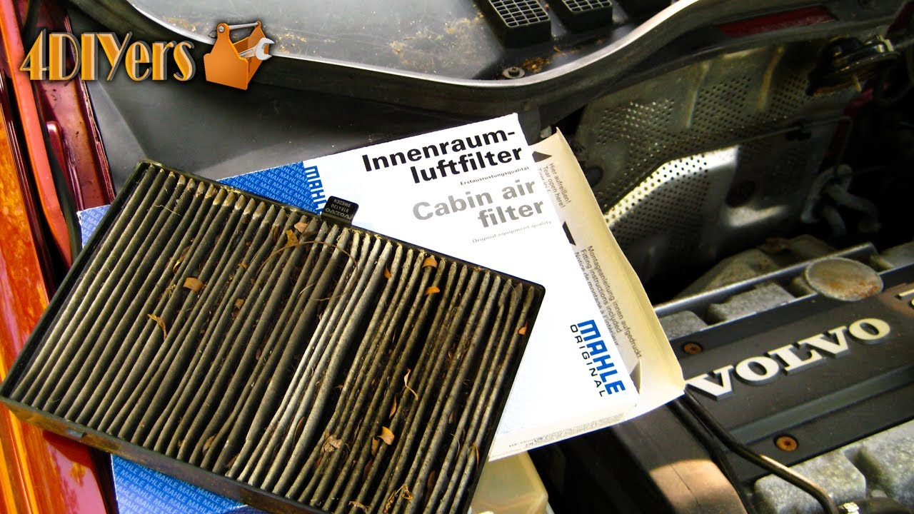 How To Replace Volvo 850 Cabin Filter