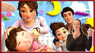 Are you sleeping | Nursery Rhymes & Kids Songs | Banana Cartoon - Sign Language For Kids - ASL