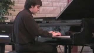 Six Variations, Beethoven; Toccata, James Hawes; Performer-Alex Bukowski