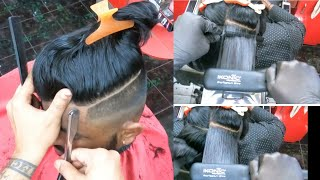 Mens hair transformation f๐r long hair keratin smoothing treatment grooming best hairstyle 2021