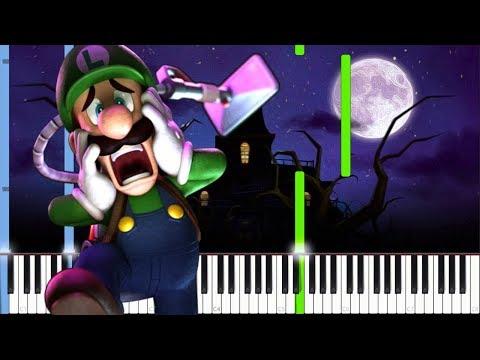 Luigi's Mansion Theme (Nightmare Edition) [Piano Tutorial] // Zebeldarebel