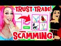 - I SCAMMED A SCAMMER in Adopt Me! You Won