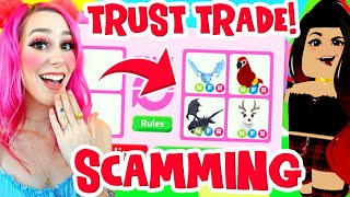 I SCAMMED A SCAMMER in Adopt Me! You Won't Believe What I Got From Them! Roblox Adopt Me Scamming