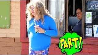 Funny WET Fart Prank With The Sharter   Shartweek Episode 1   Party Girl Tracy