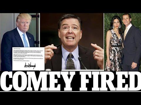 REAKING NEWS: Trump FIRES FBI Director James Comey