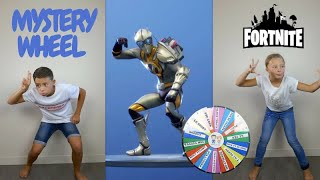 MYSTERY WHEEL OF FORTNITE DANCE CHALLENGE