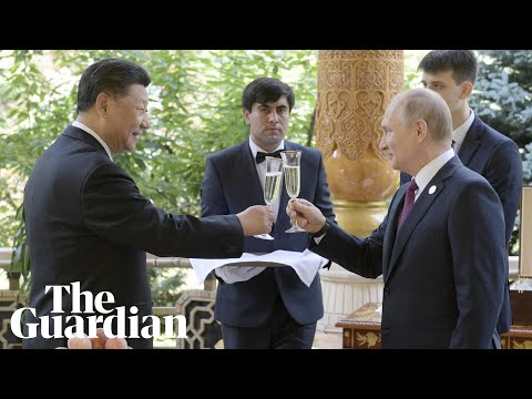 Vladimir Putin hosts birthday party for Xi Jinping