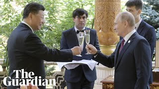 Putin hosts birthday party for Xi Jinping with ice cream and cake