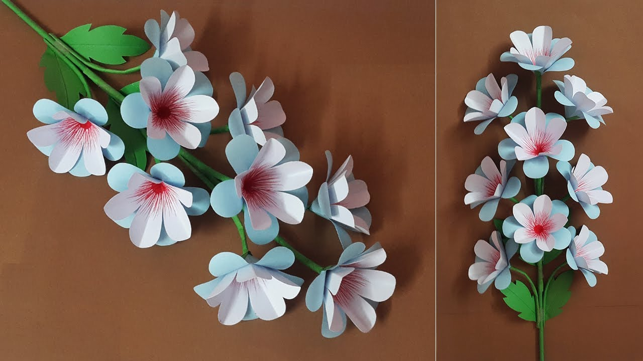 Very Easy Paper Flower Making For Decor Ideas Beautiful