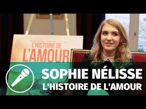 Interview — Sophie Nélisse pour L'histoire de l'amour