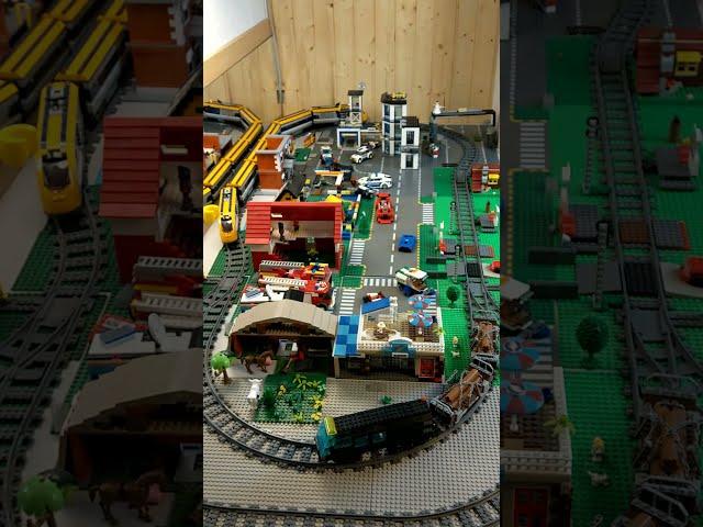 Lego-Weltrekord unterstützen, Zugfahrt für eine gute Sache, #shorts