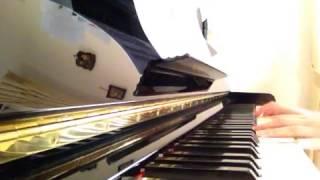 高橋留美子劇場 アニメ「人魚の森」のオープニングテーマをピアノで弾い...