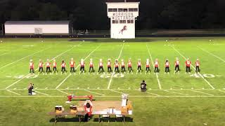 MHS homecoming cheerleading routine