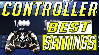 Fortnite Best Controller Settings Console (Best Sensitivity And Layout)