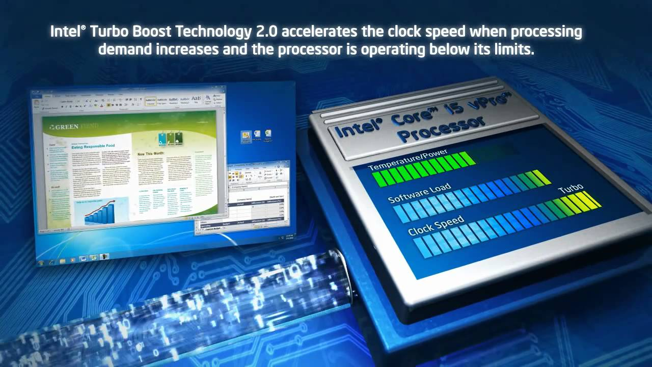Intel® Turbo Boost Technology 2.0: Demo - YouTube