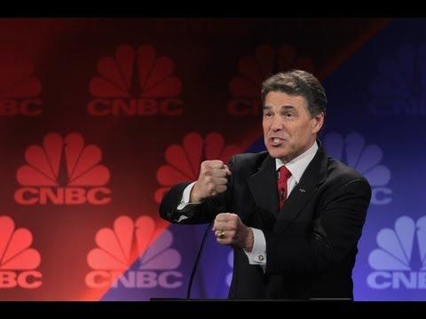 Rick Perry Gaffe (Epic Debate Fail)