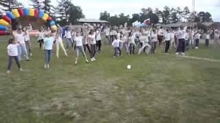 флешмоб на дне молодёжи (город Серов)студия Фанки пипл