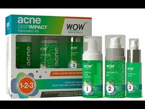 #47 Wow Acne Deep Impact Treatment Kit - The best treatment kit for Acne / Pimples