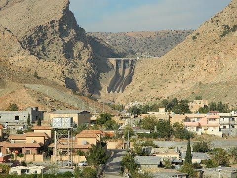 Darbandikhan before the earthquake, 7.2 magnitude Kurdistan, Iraq, travel, hills, Darbandikhan Dam
