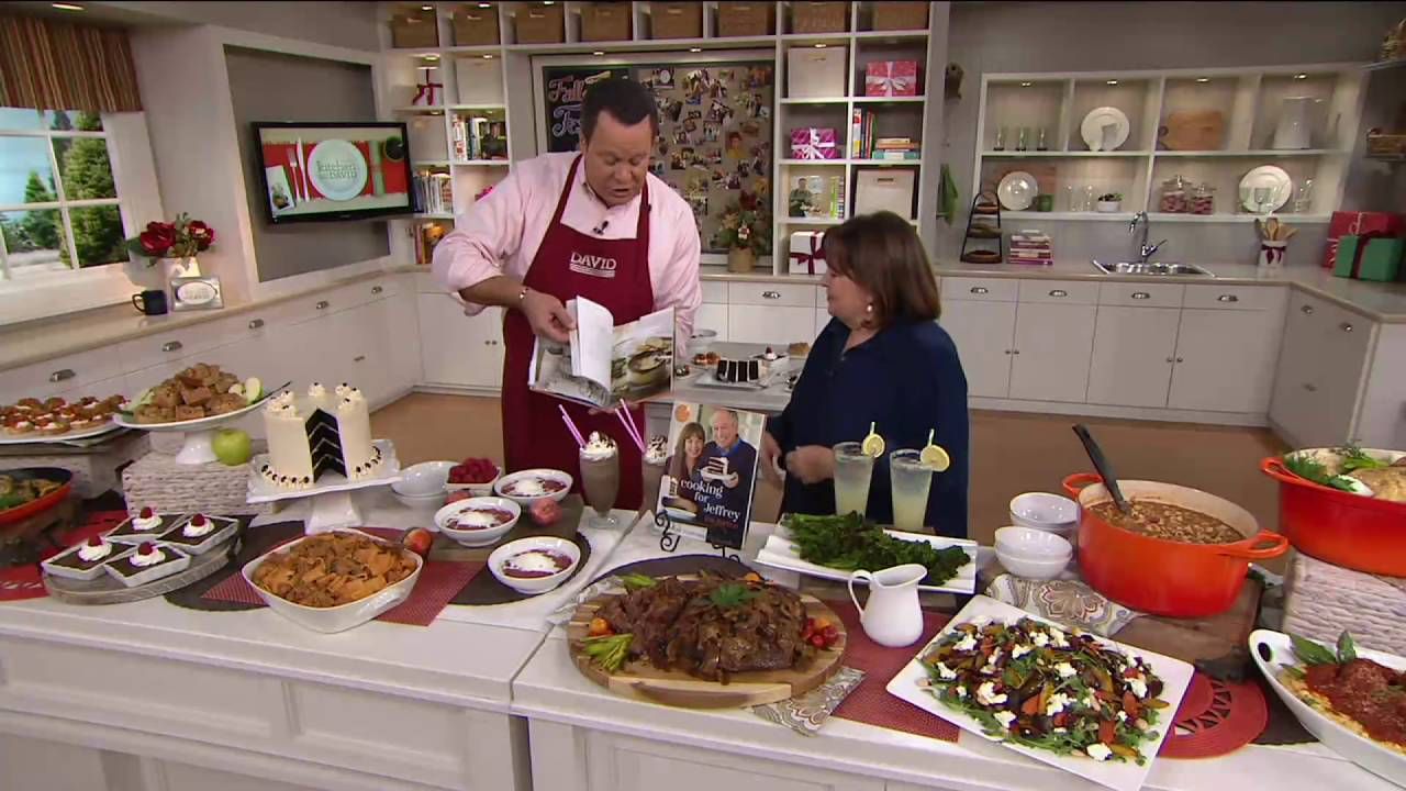 "cooking for jeffrey"" cookbookina garten on qvc - youtube"