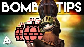Monster Hunter 4 Ultimate Bomb Tips - Blast Radius & Hit Boxes