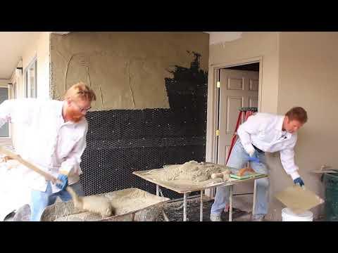 Plastering Professionals Teaching DIY Weekend Warriors How To Plaster