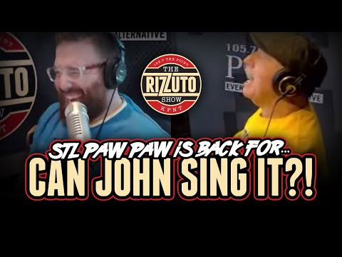 Can John Sing The Hits? STL Paw Paw returns for another round! [Rizzuto Show]
