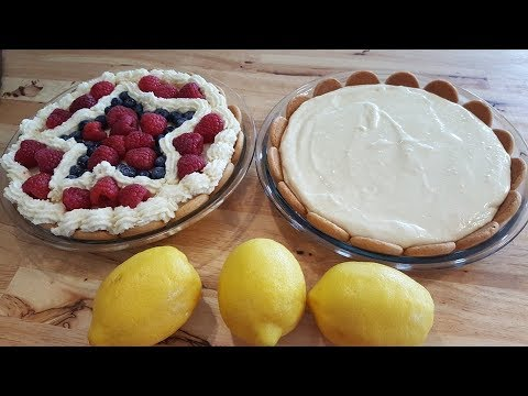 Lemon Pie - Creamy - No Bake - The Hillbilly Kitchen
