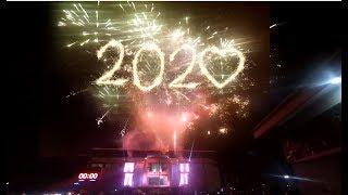 Meriah Pesta Kembang Api Tahun Baru 2020 di Gor Lembu Peteng full