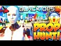 EVERYONE WAS THE NUKETOWN MANNEQUIN! 😱 - (Black Ops 3 Prop Hunt Funny Moments)