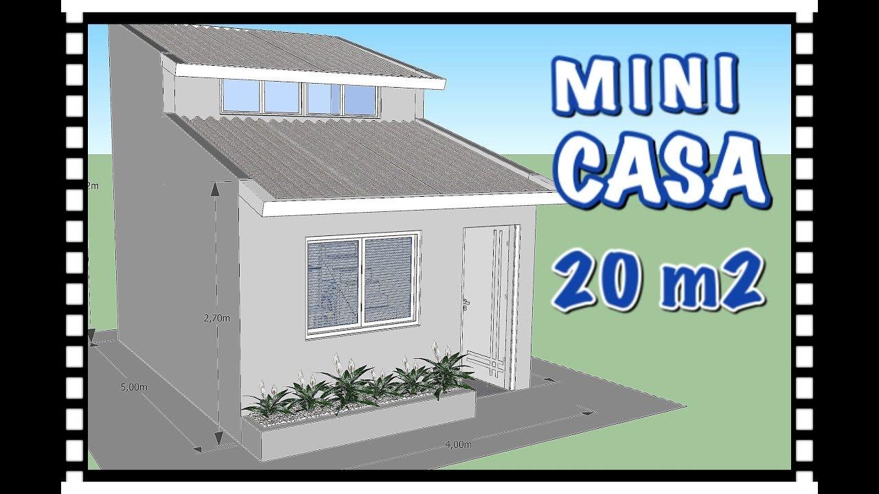 Mini casa 20m youtube - Minibar da casa ...