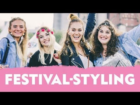 Festival-Styling mit Snukieful auf dem Dockville Festival in Hamburg | NIVEA MEET & STYLE