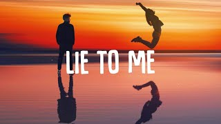 Tate McRae x Ali Gatie - lie to me (Lyrics)
