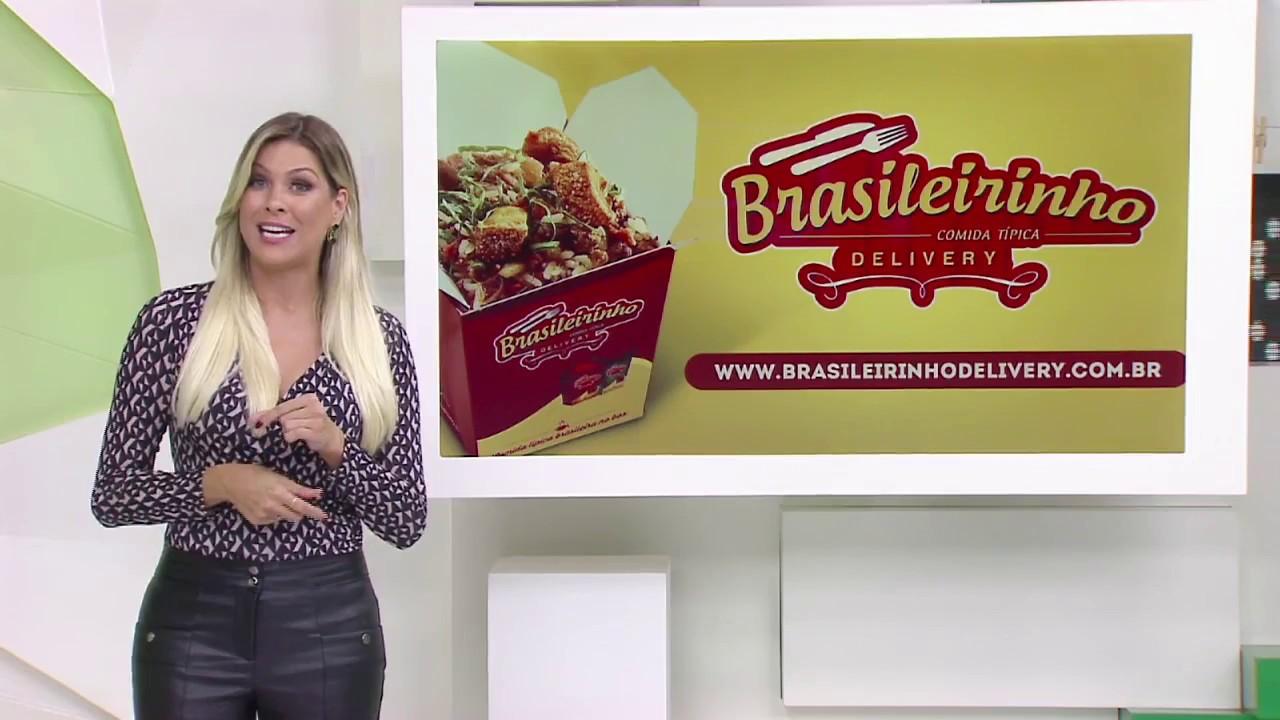 6c5b7c7c5b835 Brasileirinho Delivery Comida Típica no Box no Jogo Aberto com a Renata Fan