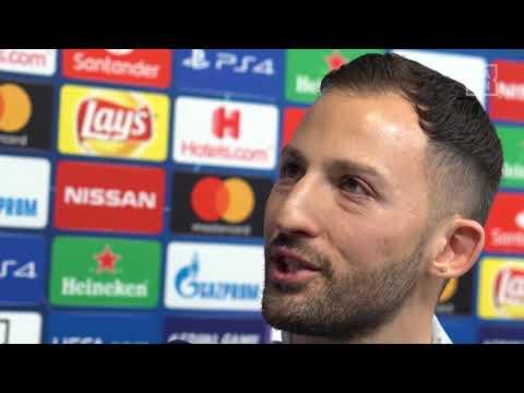 Domenico Tedesco im DAZN Interview vor Schalke vs Manchester City