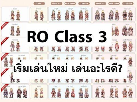 Ragnarok Online คลาส 3 เริ่มเล่นใหม่ เล่นคลาสอะไรดี? มาคนเดียว/มากับเพื่อน LAGINW Podcast#10