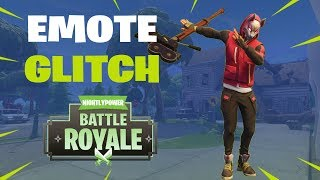 Fortnite Emote Glitch!! Harvesting Tool and Emote at The Same Time!!
