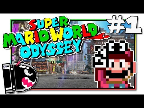 Super Mario World Odyssey - SMW Rom Hack with Cappy! (EP1)