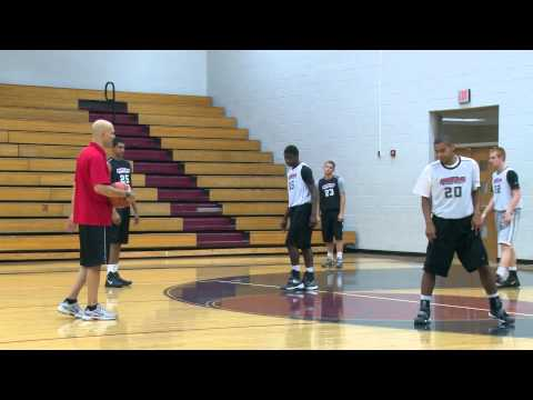 Defensive Shell Drill With Jim Huber - Defense Drills