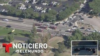Escena de caos tras tiroteo en San Bernardino, California | Noticiero | Noticias Telemundo