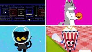 Evolution of Google Doodle Games