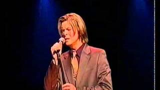 David Bowie - Wild Is The Wind (live at Yahoo Awards, 2000)