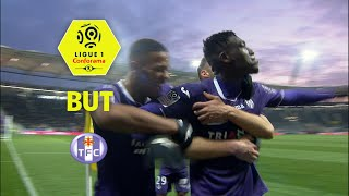 But Yaya SANOGO (87') / Toulouse FC - AS Monaco (3-3)  / 2017-18