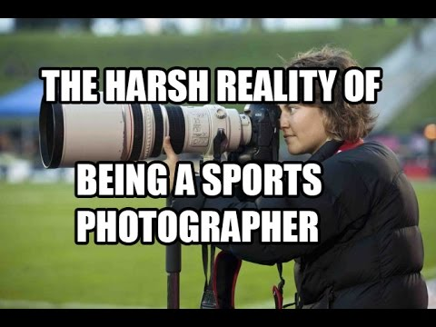 The Harsh Reality Of Being A Sports Photographer
